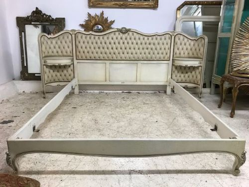 Very Impressive Vintage King Size French Bed -  df121